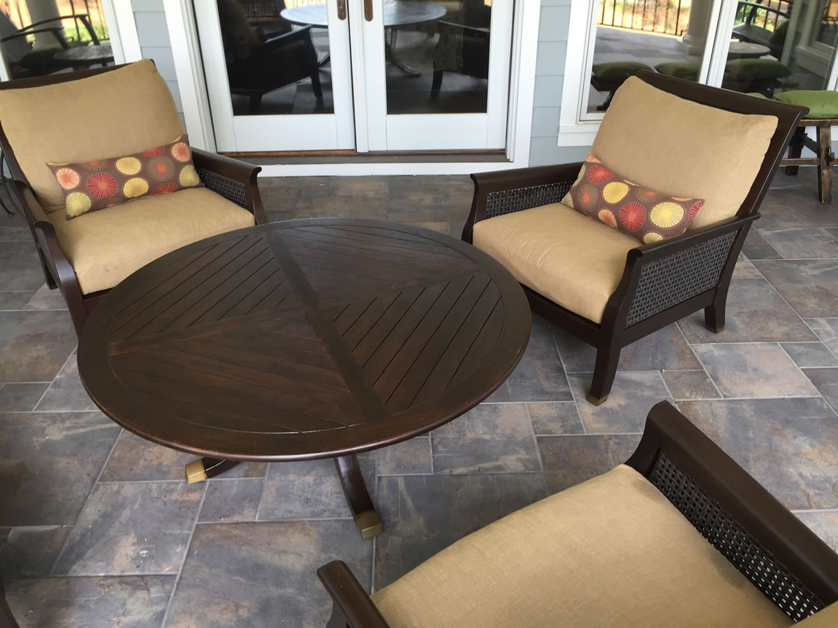 Teak Wood Restoration NC