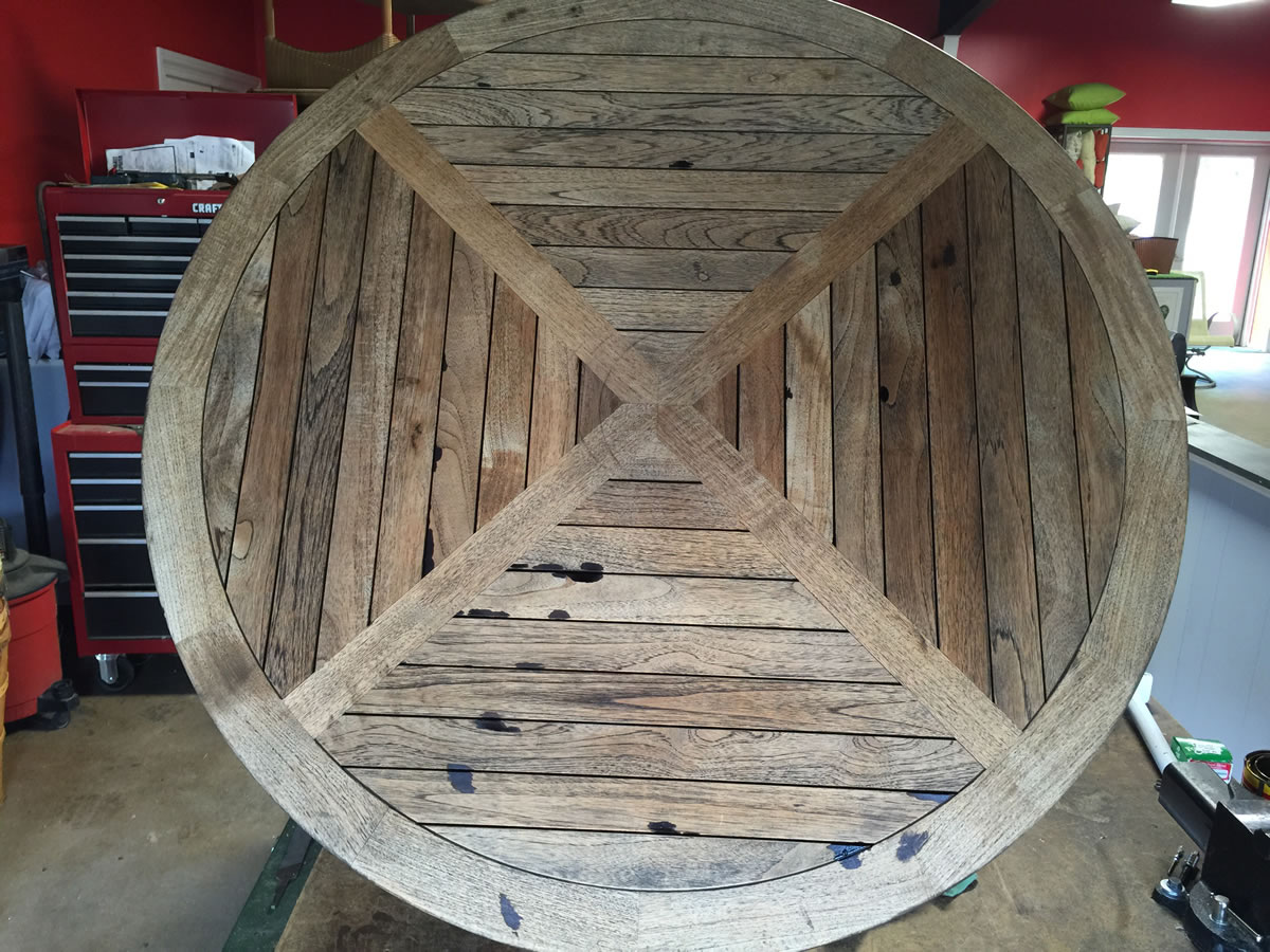 Teak Wood Restoration NC