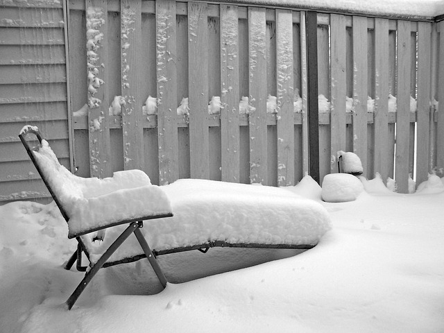 Winterizing Patio Furniture